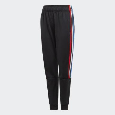 Kids Originals Black Adicolor Track Pants