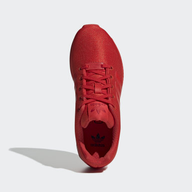 Kinderen Originals rood ZX Flux Schoenen