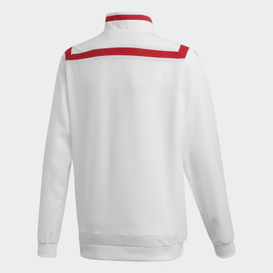 Chaqueta Presentación Arsenal Blanco Niño Fútbol