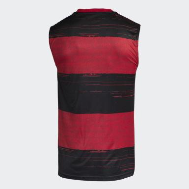 Camisa Sem Manga CR Flamengo 1 Preto Homem Futebol
