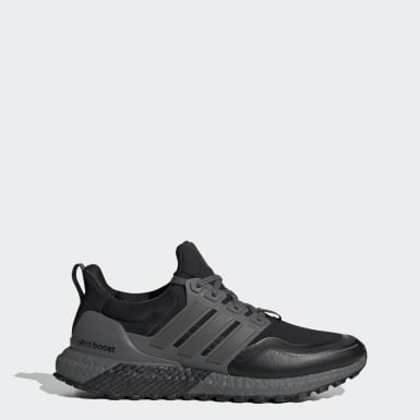 Men Running Black Ultraboost All Terrain Shoes