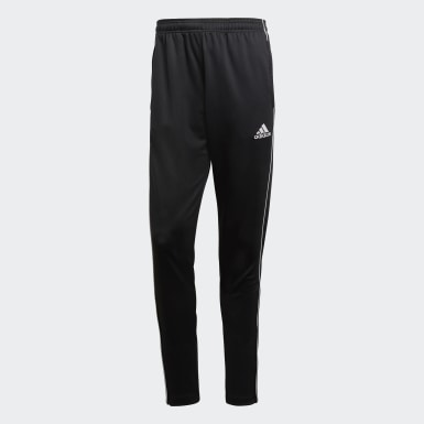 Men Training Black Core 18 Training Tracksuit Bottoms