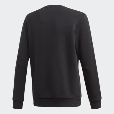 Sweat-shirt Must Haves Crew Noir Garçons Training