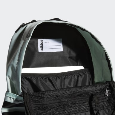 Essentials Green Classic 3-Stripes 3 Backpack