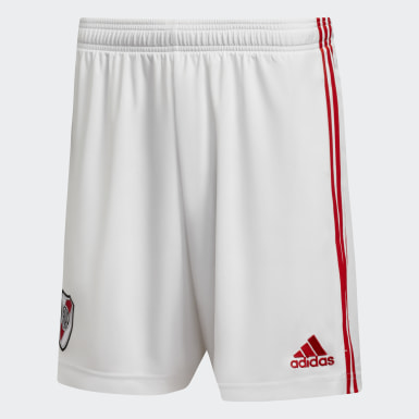 Shorts Visitante River Plate 20/21 Blanco Hombre Fútbol