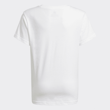 Youth 8-16 Years Originals White Trefoil T-Shirt