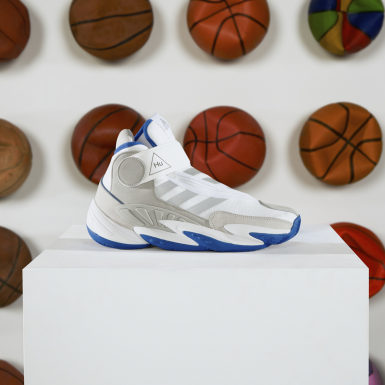 Chaussure Crazy BYW Pharrell Williams Blanc Originals
