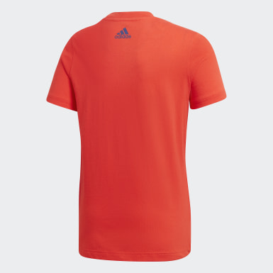 Camiseta Estampada Burgundy Niño Training