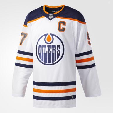 Maillot Oilers McDavid Extérieur Authentic Pro