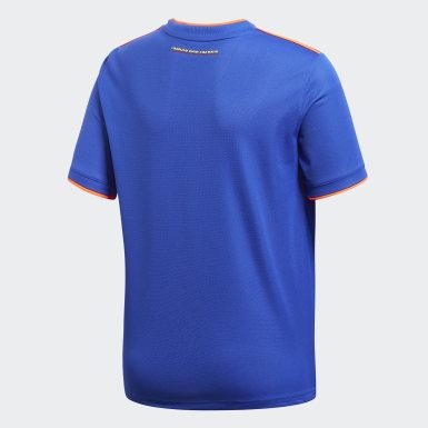 Maillot Colombie Extérieur Bleu Enfants Football