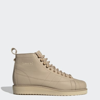 Women Originals Beige Superstar Boots