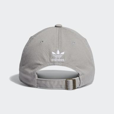 Men's Originals Beige Relaxed Strap-Back Hat