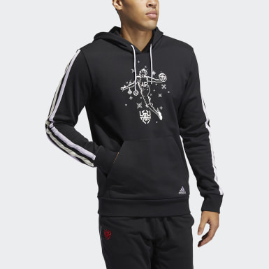 Männer Basketball D.O.N. Decorate the Game Hoodie Schwarz