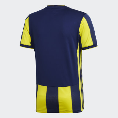Men Football Yellow Fenerbahçe SK Home Jersey