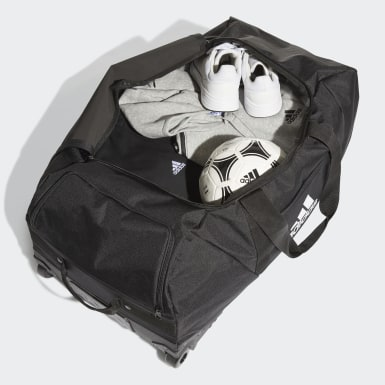 Soccer Black Tiro Trolley Duffel Bag Extra Large