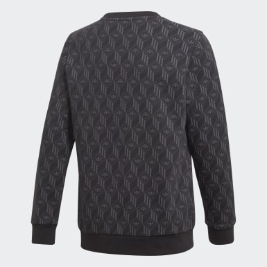 Børn Originals Sort Crew sweatshirt