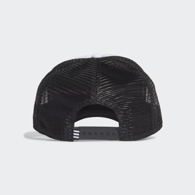 Originals Black Adicolor Curved Trucker Cap