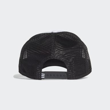 Originals Black Adicolor Curved Trucker Cap