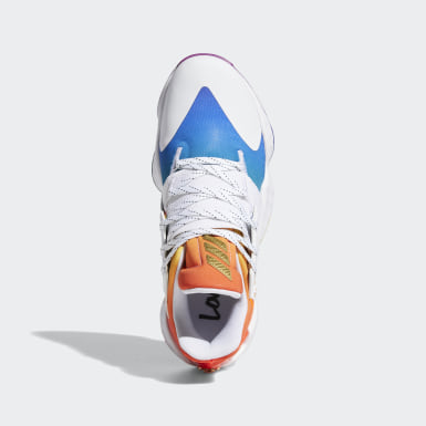ผู้ชาย บาสเกตบอล สีขาว รองเท้า Harden Vol. 4 Pride