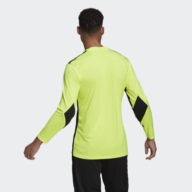 Men Football Yellow Squadra 21 Goalkeeper Jersey