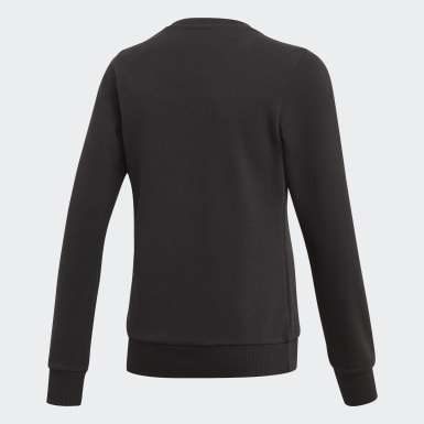 Sweat-shirt Linear Noir Filles Athletics