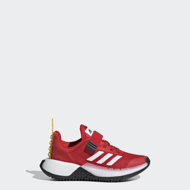 Children Running Red adidas x LEGO® Sport Shoes
