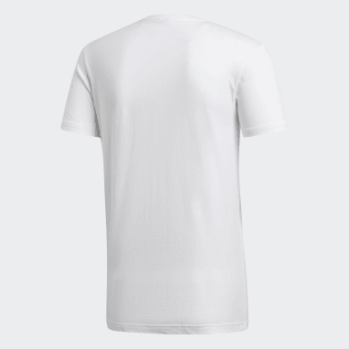 Camiseta Badge of Sport Camouflage Blanco Hombre Running