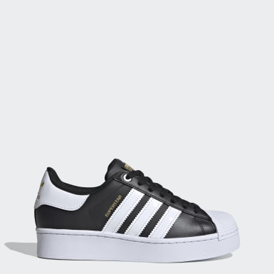 Women's Originals Black Superstar Bold Women's Shoes
