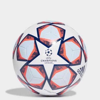 Ballon d'entraînement UCL Finale 20 Texture Blanc Football