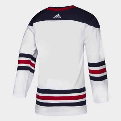 Hockey White Jets Retro Authentic Pro Jersey