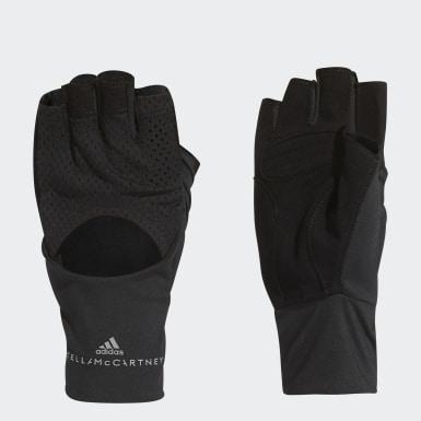 черный Перчатки для фитнеса