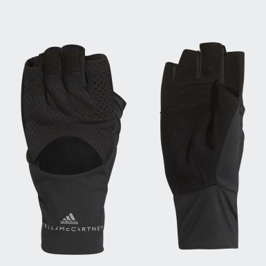 Women adidas by Stella McCartney Black Training Gloves