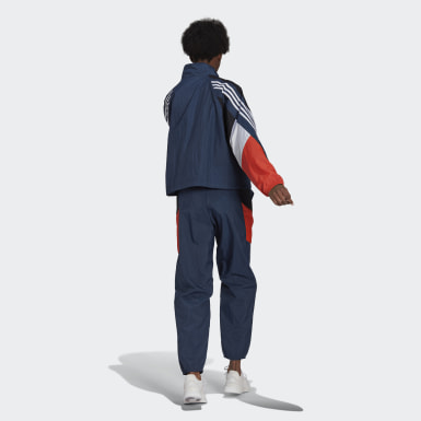 Women Athletics Blue adidas Sportswear Game-Time Woven Tracksuit