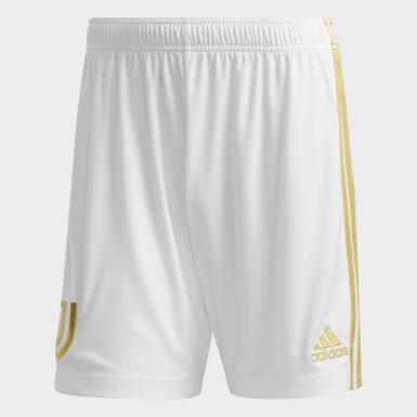 Men Football White Juventus Home Shorts