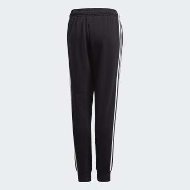 Youth Soccer Black Juventus Sweat Pants