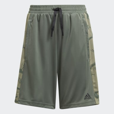 Jongens Training Groen adidas Designed To Move Camouflage Short