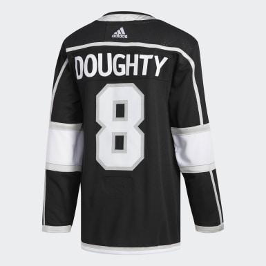 Men's Hockey Black Kings Doughty Home Authentic Pro Jersey