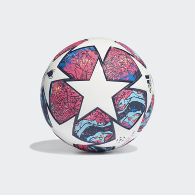 Men Football White UCL Finale Istanbul Mini Ball