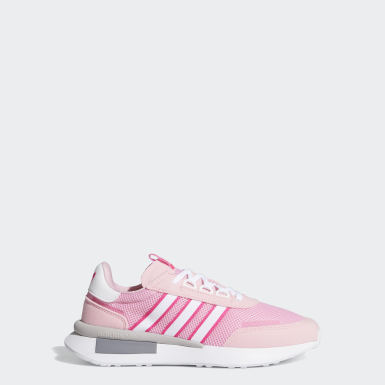 Youth 8-16 Years Originals Pink Retroset Shoes