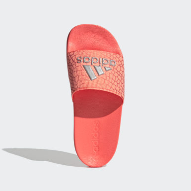 Children Swimming Pink Adilette Shower Slides