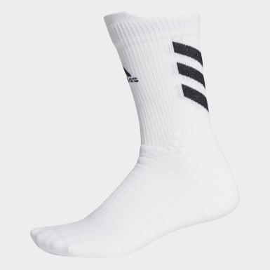 Tennis Hvid Alphaskin Crew sokker