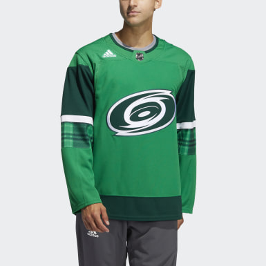 Men's Hockey Multicolor Hurricanes St. Patricks Jersey