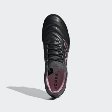 Women's Soccer Black Copa 19.1 Firm Ground Cleats
