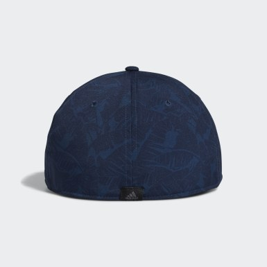 Men Golf Blue Tour Print Hat