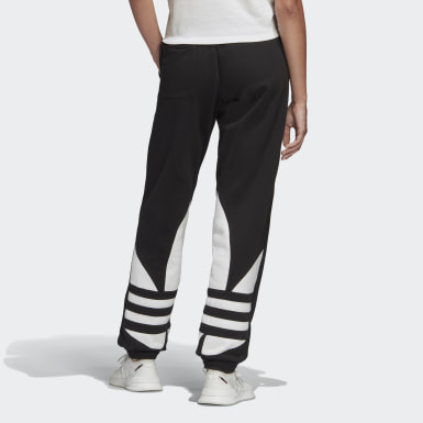 Dames Originals Zwart Large Logo Joggingbroek