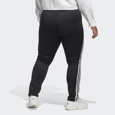 Kvinder Originals Sort Primeblue SST Plus Size træningsbukser