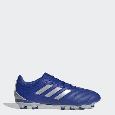 Bota de fútbol Copa 20.3 multiterreno Azul Hombre Fútbol