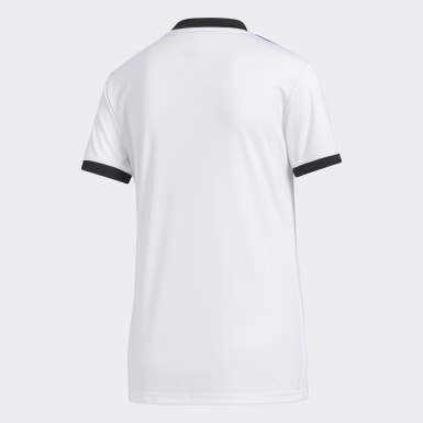 Women Football White Tiro Jersey