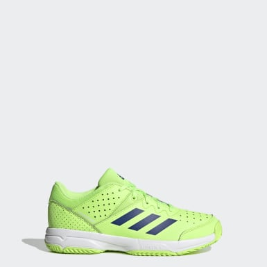 Kids Squash Green Court Stabil Shoes