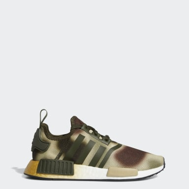 Women's Originals Green NMD_R1 Star Wars Shoes